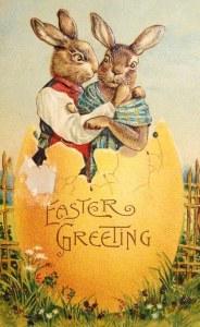bunnies in egg
